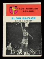 Elgin Baylor 1961-62 Fleer #46 IA at PristineAuction.com