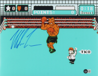 """Mike Tyson Signed """"Punch-Out!!"""" 11x14 Photo (Beckett Hologram) at PristineAuction.com"""