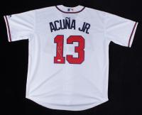 Ronald Acuna Jr. Signed Braves Jersey (JSA COA) at PristineAuction.com