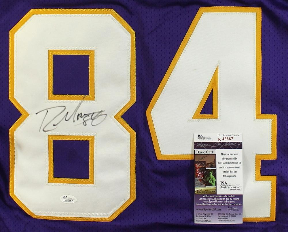 150b7fa47f9 Randy Moss Signed Vikings Jersey (JSA COA) at PristineAuction.com