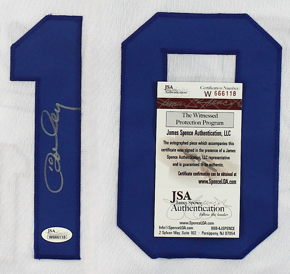 Ron Cey Signed Dodgers Jersey (JSA COA) at PristineAuction.com 20dd7524f84