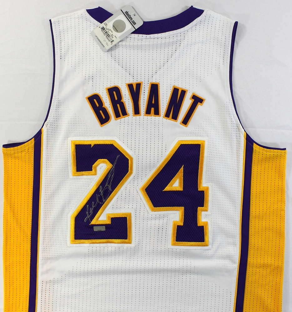 ... Kobe Bryant Signed Lakers Authentic Adidas On-Court Jersey (Panini COA)  at PristineAuction ... ee4b4a5c2