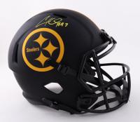 Cameron Heyward Signed Steelers Full-Size Eclipse Alternate Speed Helmet (Beckett Hologram) at PristineAuction.com