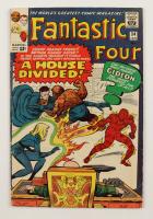 "1965 ""Fantastic Four"" Vol. 1 Issue #34 Marvel Comic Book (See Description) at PristineAuction.com"