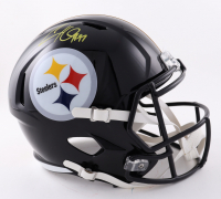 Cameron Heyward Signed Steelers Full-Size Speed Helmet (Beckett Hologram) at PristineAuction.com