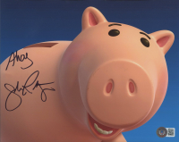"""John Ratzenberger Signed """"Toy Story"""" 8x10 Photo Inscribed """"Ahoy"""" (Beckett COA) at PristineAuction.com"""