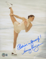 """Nancy Kerrigan Signed 8x10 Photo Inscribed """"Believe in Yourself!"""" (Beckett COA) at PristineAuction.com"""