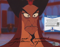 """Jonathan Freeman Signed """"Aladdin"""" 8x10 Photo Inscribed """"All Best Wishes!"""" (Beckett COA) at PristineAuction.com"""