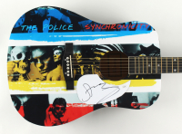 """Sting Signed """"Synchronicity"""" 41"""" Acoustic Guitar (JSA COA) (See Description) at PristineAuction.com"""