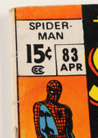 """1970 """"The Amazing Spider-Man"""" Vol. 1 Issue #83 Marvel Comic Book (See Description) at PristineAuction.com"""
