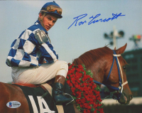 Ron Turcotte Signed 8x10 Photo (Beckett COA) at PristineAuction.com