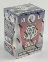 2021 Panini Mosaic UEFA Euro 2020 Soccer Blaster Box with (8) Packs at PristineAuction.com