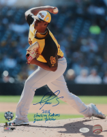 """Alex Reyes Signed """"All-Star Futures"""" 11x14 Photo Inscribed """"2016 Starting Futures Game Pitcher"""" (JSA COA) at PristineAuction.com"""