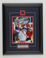 Mike Richter Signed Rangers 15.5x19.5 Custom Framed Photo Display (COJO COA) at PristineAuction.com