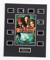 """""""Pirates of the Caribbean: Dead Man's Chest"""" LE 8x10 Custom Matted Original Film / Movie Cell Display at PristineAuction.com"""