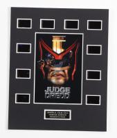 """Judge Dredd"" LE 8x10 Custom Matted Original Film / Movie Cell Display at PristineAuction.com"