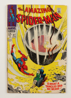 """1968 """"The Amazing Spider-Man"""" Vol. 1 Issue #61 Marvel Comic Book (See Description) at PristineAuction.com"""