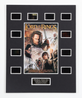 """""""The Lord of the Rings: The Return of the King"""" LE 8x10 Custom Matted Original Film / Movie Cell Display at PristineAuction.com"""