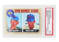 Jerry Koosman RC / Nolan Ryan RC 1968 Topps #177 Rookie Stars (PSA 5) at PristineAuction.com