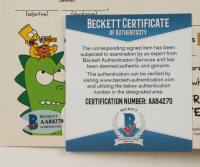 """Nancy Cartwright Signed 1993 """"Simpsons Comics And Stories"""" Issue #1 Comic Book (Beckett COA) at PristineAuction.com"""