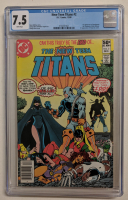 """1980 """"New Teen Titans"""" Issue #2 DC Comic Book (CGC 7.5) at PristineAuction.com"""
