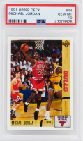 Michael Jordan 1991-92 Upper Deck #44 (PSA 10) at PristineAuction.com