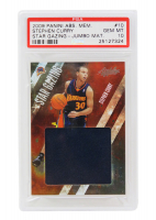 Stephen Curry 2009-10 Absolute Memorabilia Star Gazing Jumbo Materials #10 #24/25 (PSA 10) at PristineAuction.com