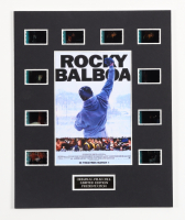 """""""Rocky Balboa"""" LE 8x10 Custom Matted Original Film / Movie Cell Display at PristineAuction.com"""