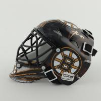 Jeremy Swayman Signed Bruins Mini Goalie Mask (YSMS COA) at PristineAuction.com