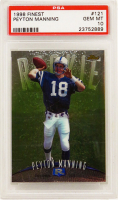 Peyton Manning 1998 Finest #121 RC (PSA 10) at PristineAuction.com