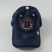 Charlie McAvoy Signed Bruins Logo Hat (YSMS COA) at PristineAuction.com