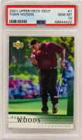Tiger Woods 2001 Upper Deck #176 (PSA 10) at PristineAuction.com