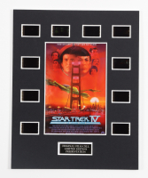 """""""Star Trek IV: The Voyage Home"""" LE 8x10 Custom Matted Original Film / Movie Cell Display at PristineAuction.com"""