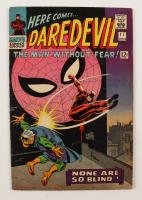 """1966 """"Daredevil"""" Vol. 1 Issue #17 Marvel Comic Book (See Description) at PristineAuction.com"""