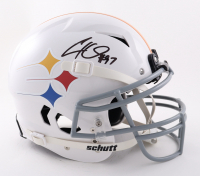Cameron Heyward Signed Full-Size Youth Authentic On-Field Vengeance Helmet (Beckett COA) at PristineAuction.com