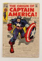 "1969 ""Captain America"" Vol. 1 Issue #109 Marvel Comic Book at PristineAuction.com"