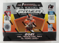 2021 Panini Prizm Draft Football Mega Box with (12) Packs (See Description) at PristineAuction.com