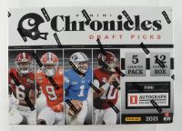 2021 Panini Chronicles Draft Picks Football Mega Box with (12) Packs at PristineAuction.com