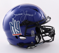 Daniel Jones Signed Full-Size Youth Authentic On-Field Vengeance Helmet (Beckett Hologram) at PristineAuction.com