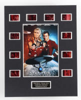"""""""Star Trek The Wrath of Khan"""" LE 8x10 Custom Matted Original Film / Movie Cell Display at PristineAuction.com"""