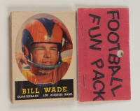 1958 Football Card Fun Pack with (10) Cards at PristineAuction.com