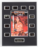 """""""Conan the Destroyer"""" LE 8x10 Custom Matted Original Film / Movie Cell Display at PristineAuction.com"""