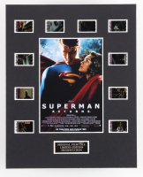 """""""Superman Returns"""" LE 8x10 Custom Matted Original Film / Movie Cell Display at PristineAuction.com"""