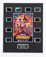 """""""Avengers: Infinity War"""" LE 8x10 Custom Matted Original Film / Movie Cell Display at PristineAuction.com"""