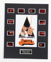 """Clockwork Orange"" LE 8x10 Custom Matted Original Film / Movie Cell Display at PristineAuction.com"