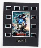 """""""Iron Man 3"""" LE 8x10 Custom Matted Original Film / Movie Cell Display at PristineAuction.com"""
