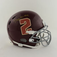 Dyami Brown Signed Full-Size Youth Helmet (Beckett COA) (See Description) at PristineAuction.com