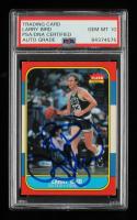 Larry Bird Signed 1986-87 Fleer #9 (PSA Encapsulated) at PristineAuction.com