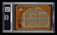 Larry Bird Signed 1981-82 Topps #4 (PSA Encapsulated) at PristineAuction.com