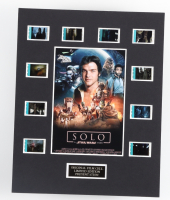 """""""Solo: A Star Wars Story"""" LE 8x10 Custom Matted Original Film / Movie Cell Display at PristineAuction.com"""